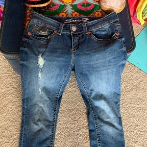Seven 7 Jeans Skinny Medium Size 8 Pant Excellent